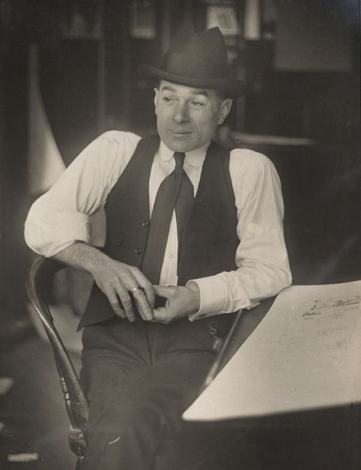 Image of George Herriman in a Hat